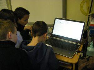 Création d'un journal numérique à Baus-Roux |