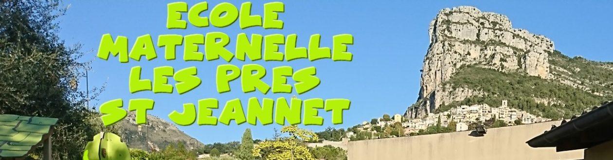 Site de l'école Les Prés Maternelle (St JEANNET – 06)